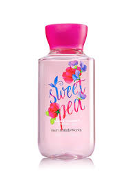 sweet pea travel size shower gel signature collection bath