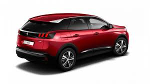 peugeot red motability peugeot 3008 suv 1 2 puretech allure 5dr robins and day