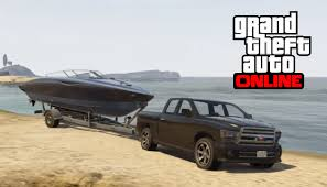 gta 5 online how to find and launch a boat trailer youtube