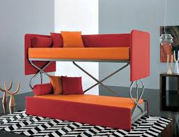 Sofa That Converts Into A Bunk Bed Space Saving Sleepers Sofas Convert To Bunk Beds In Seconds