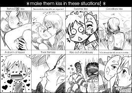 Kiss Meme - luxsoka kiss meme by drawn with passion on deviantart