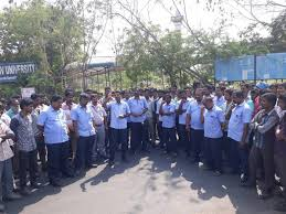workers strike across tamilnadu demanding immediate relief to