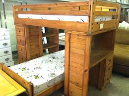 Wooden Loft Bunk Beds Wood Bunk Bed With Desk Solid Wood Bunk Beds Ideas Wood Loft Bed