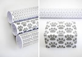 modern wrapping paper free printables modern dog themed gift wrap dog milk