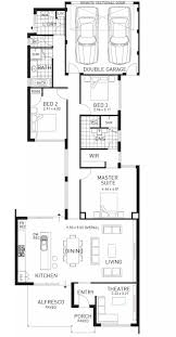 Single Storey Floor Plans by 53 Best Building Rear Load Plans Images On Pinterest Home