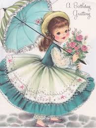 1836 best vintage birthday greeting cards images on