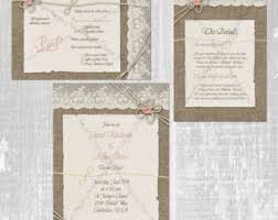 wedding invitation bundles library card wedding invitation book theme wedding invite