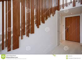 a modern house entrancehall stock photo image 43920724