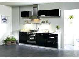 repeindre meuble cuisine laqué meuble de cuisine noir cuisine meuble cuisine noir laque avec jaune
