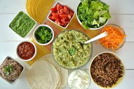 Weekend Dinner Ideas What U0027s For Dinner Taco Night Menu A Pretty Life In The Suburbs
