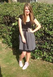 asos dress and converse of the day really ree