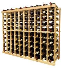 vintner 3 u0027 series 10 column individual bottle wine rack