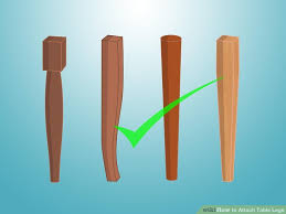 attaching legs to a table how to attach table legs 12 steps with pictures wikihow