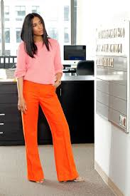 how to wear orange trousers 2018 fashiongum com