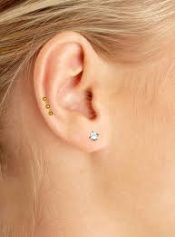 diamond cartilage piercing cartilage piercing www kyra ae
