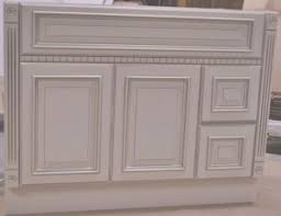 inch heritage ivory white fluted bathroom vanity right drawers
