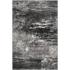 Black Grey And White Area Rugs Modern Black Area Rugs Allmodern