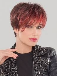 salt and pepper pixie cut human hair wigs jazz short lace front wig by ellen wille wigs com the wig