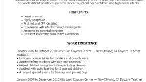Child Care Provider Resume Examples by Child Care Resume Sample Best Sample Resume Child Care Resume