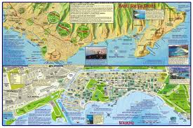 map of waikiki oahu guide map franko s fabulous maps of favorite