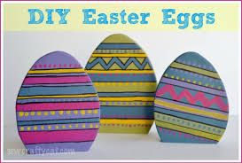 Wooden Easter Decorations Patterns by Easy Diy Easter Decorations