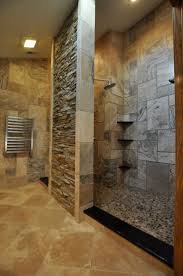Walk In Shower Designs For Small Bathrooms by Best 25 Natural Stone Bathroom Ideas On Pinterest Stone Tub
