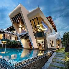 Cool Houses With Pools Https Www Aminkhoury Com Beautiful Modern Home Mid Century