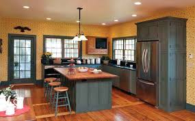 kitchen paint colors with light cabinets small kitchen paint