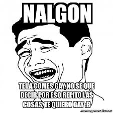 Memes De Nalgones - meme yao ming 2 nalgon te la comes gay no se que decir por eso