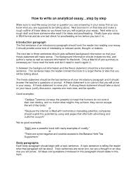 Argumentative Essay Introduction Example Writing An Essay Intro