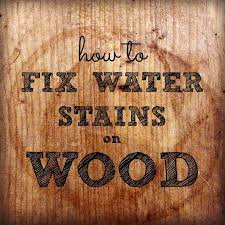 how to remove stains from wood table water stains on wood how to remove water rings from wood tables