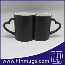 Heart Shaped Mugs Color Changing Couple Mugs Heart Shaped Matte Sql1 A2 Hlh