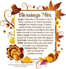 blessings for thanksgiving dinner brookie s cookie jar blessing mix
