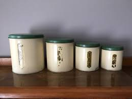 Kitchen Canisters Australia Vintage Duperite Kitchen Canisters Cooking Accessories Gumtree