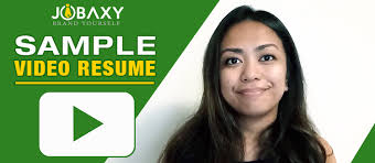 Sample Video Resume by News Jobaxy Philippines