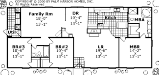 Palm Harbor Homes Floor Plans Mobile Home Floor Plan Full House By Palm Harbor Floor Plans