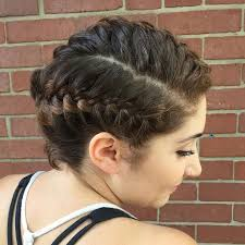 the 25 best braided mohawk hairstyles ideas on pinterest