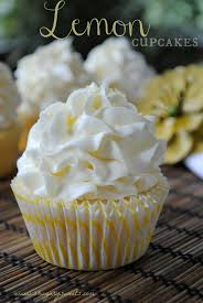 lemon cupcake with lemon buttercream recipe lemon top lemon