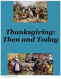 thanksgiving primary source analysis and creative questions
