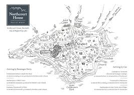Maps For Northcourt House Maps For Guests U2022 Clear Mapping Company