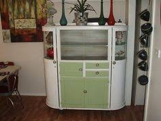Retro Kitchen Hutch 1950s Tall All In One Original Kitchen Dresser Unit Vintage