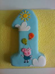 George Pig Cake Decorations Best 25 George Pig Cake Ideas On Pinterest Peppa Pig Birthday