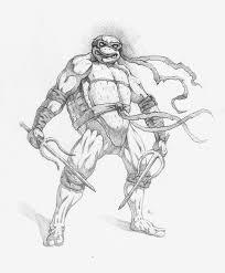 teenage mutant ninja turtle raphael by adammiconi on deviantart