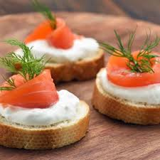 canapes recipes appetizers smoked salmon canapes recipe recipe4living