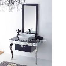 Stainless Steel Bathroom Vanity Cabinet Stainless Steel Bathroom Furniture China Bath Vanities