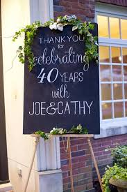 40th anniversary gifts for parents 40th anniversary ideas for couples tip junkie