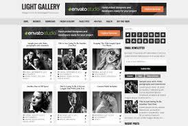light gallery blogger template best blogger themes