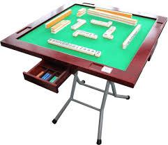Mahjong Table Automatic by Amazon Com Mahjong Table Premier Easily Stand Table Storage Type