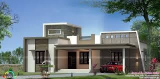 3 Bedroom House Design with House Plan Contemporary One Floor 3 Bedroom Home Kerala Home