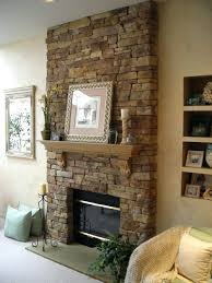 ideas fireplace wall interior design decor impressive stone